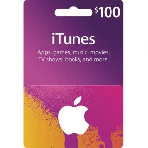 iTunes 100 USD Gift Card for US Account