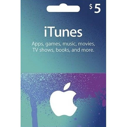 iTunes 5 USD Gift Card for US Account