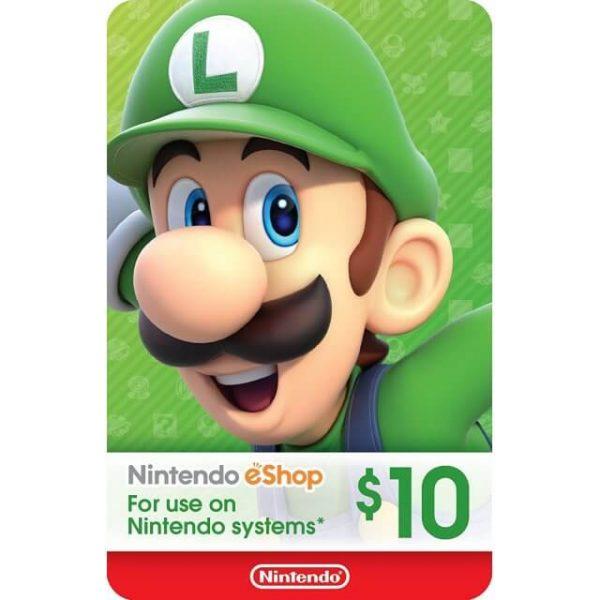 Nintendo eShop Card 10 USD for US Account