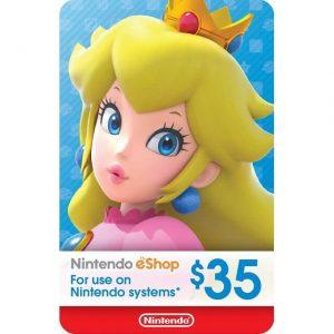 Nintendo eShop Card 35 USD for US Account