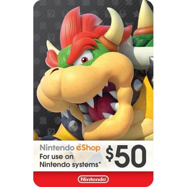 Nintendo eShop Card 50 USD for US Account