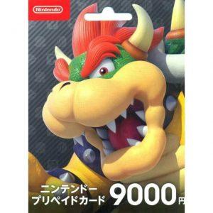 Nintendo eShop Card 9000 Yen for Japan Account