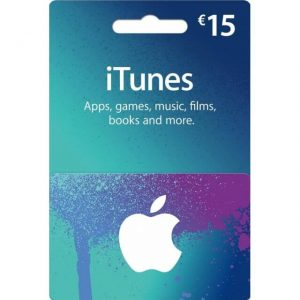 iTunes 15 EUR Gift Card for Germany Account