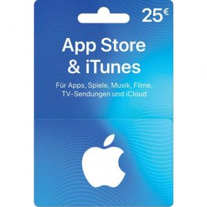 iTunes 25 EUR Gift Card for Germany Account