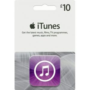 iTunes 10 GBP Gift Card for UK Account