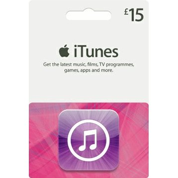 iTunes 15 GBP Gift Card for UK Account