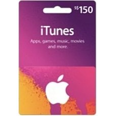 iTunes 150 SGD Gift Card for Singapore Account