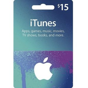 iTunes 15 USD Gift Card for US Account