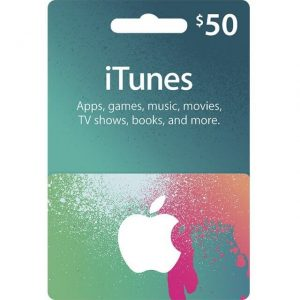iTunes 50 USD Gift Card for US Account