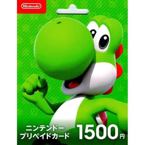 Nintendo eShop Card 1500 Yen for Japan Account