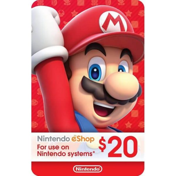 Nintendo eShop Card 20 USD for US Account